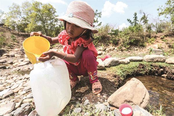 Historic drought in Ninh Thuan
