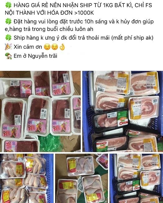 Thịt lợn 'thải' siêu thị cháy hàng, muốn mua đặt trước cả tuần