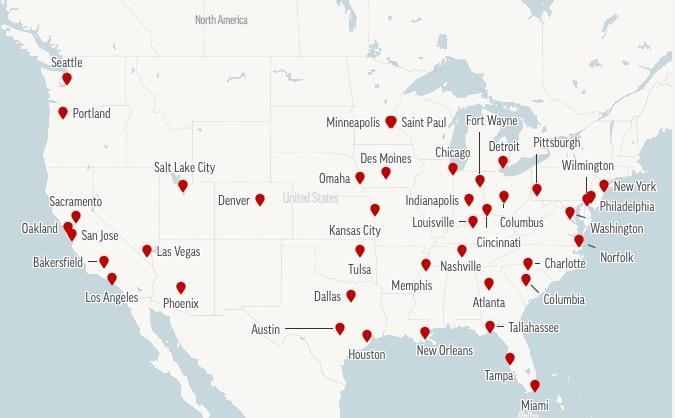 Từ vụ người da đen bị cảnh sát ghì chết, bạo động lan khắp nước Mỹ