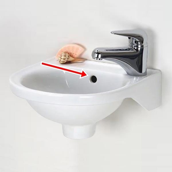 Lỗ nhỏ trên bồn rửa mặt, không phải ai cũng biết vì sao nó lại ở đó