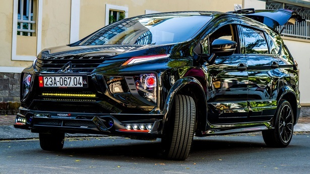 Mitsubishi Xpander hầm hố với gói độ gần 80 triệu đồng