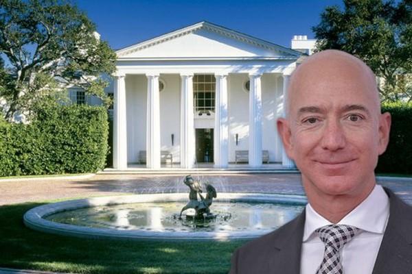 Ngắm siêu biệt thự đắt bậc nhất nước Mỹ của ông chủ Amazon