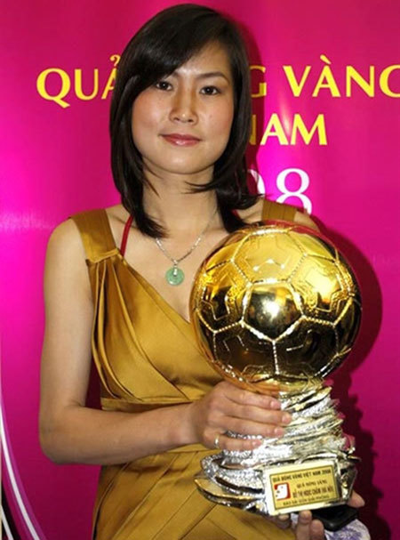 Former top striker Ngoc Cham still living her passion