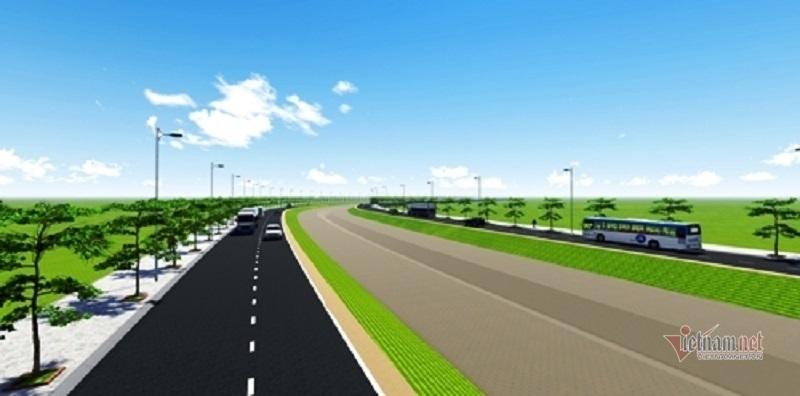 2,7 km đường nối cao tốc làm 5 năm chỉ chơ vơ 3 trụ cầu