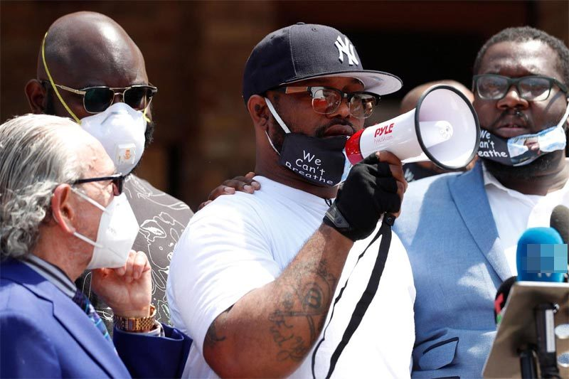 Lời kêu gọi xúc động của em trai George Floyd trước những người biểu tình Mỹ