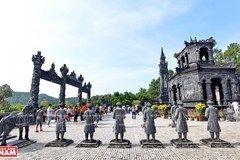 The imperial tomb of Khai Dinh