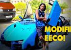 Nam thanh niên tự chế siêu xe từ ô tô 7 chỗ giá rẻ