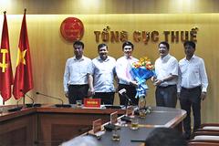 Bổ nhiệm ông Vũ Chí Hùng lên chức Phó Tổng cục trưởng Tổng cục Thuế
