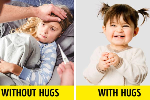 Tại sao cha mẹ nên ôm con thường xuyên?