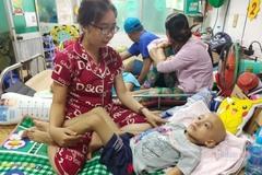 Bé Nguyễn Đăng Khoa đã qua đời