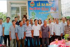 Hưởng lợi từ mô hình Hội quán nông dân