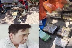 Nổ súng truy bắt kẻ đi xe máy chở 7kg ma tuý ở Hà Tĩnh