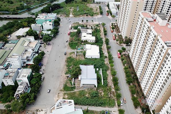 Đang hiệp thương giao đất cho dân khu 4,3 ha ngoài ranh Thủ Thiêm
