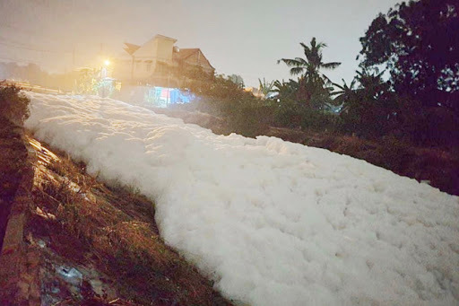 Gây ô nhiễm suối ở Bình Dương, công ty bột giặt bị phạt hơn 1 tỷ