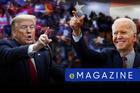Trump-Biden tranh cử: Người ngoài phố, người trong Zoom