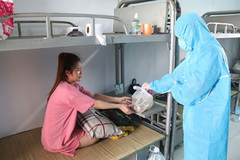 Pregnant women cared for in quarantine