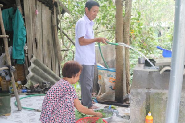 Tiền Giang: 175,8 tỷ đồng thi công các công trình cấp nước sinh hoạt cho dân
