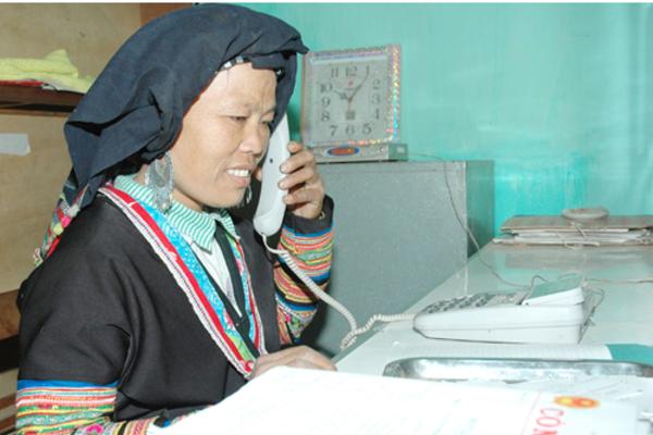 Hộ nghèo, cận nghèo được hỗ trợ cước viễn thông công ích