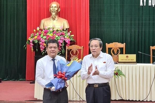 Giám đốc Sở TN&MT Quảng Bình được bầu làm Phó chủ tịch tỉnh