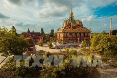 Discovery Khmer culture at Xiem Can Pagoda
