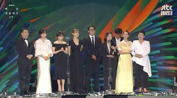 'Thế giới hôn nhân', 'Hạ cánh nơi anh' thắng giải Baeksang 2020