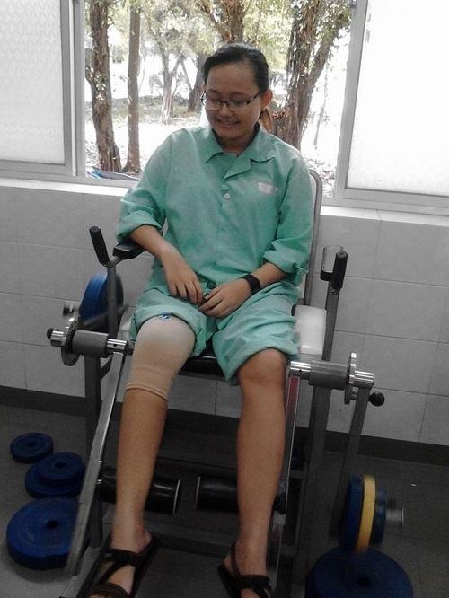 Cô gái mắc viêm tủy xương và hành trình chiến thắng bệnh tật