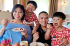 MC Hoàng Linh kỷ niệm 5 năm bên ông xã và các con