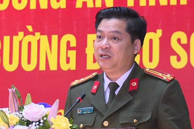 Giám đốc Công an Thái Bình được thăng hàm đại tá