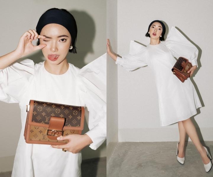 Chi Pu, Khánh Vân diện thiết kế trẻ trung, tôn dáng