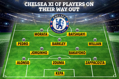"""Lampard mạnh tay """"thanh trừng"""" 11 cầu thủ Chelsea"""