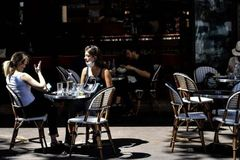 Coronavirus: Paris returns to cafe life with new normal