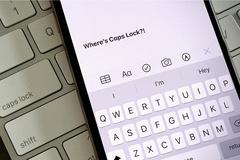Cách kích hoạt nhanh chế độ gõ chữ in hoa trên iPhone và iPad