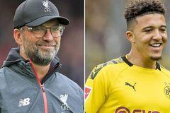 Liverpool đua MU ký Jadon Sancho, Juventus nhận cảnh báo Pogba