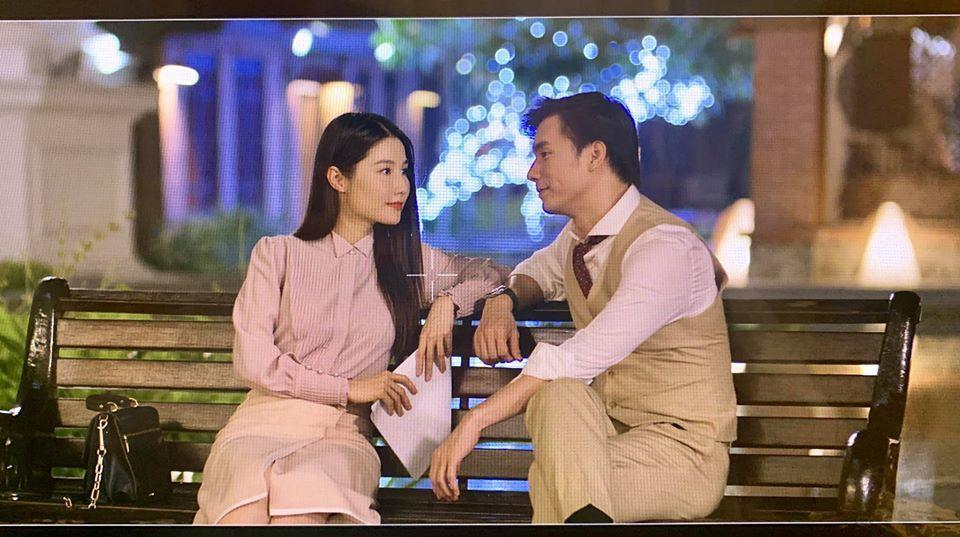 Cảnh lãng mạn của Diễm My, Nhan Phúc Vinh trong 'Tình yêu và tham vọng'