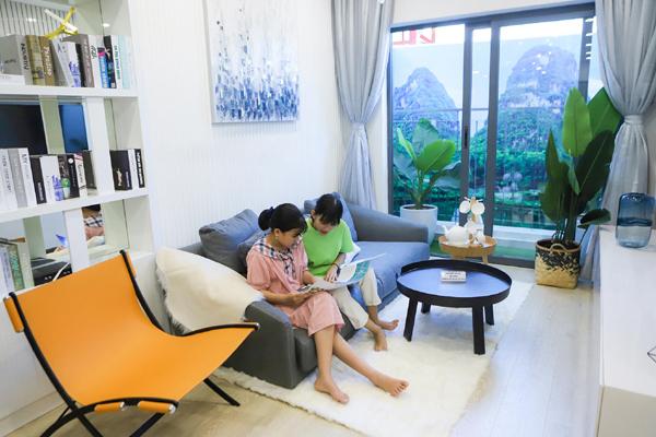 Bùng nổ giao dịch trong lễ khai trương căn hộ mẫu EcoLife Riverside Quy Nhon