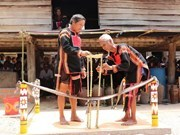 Praying for rain - unique ritual of Jrai people