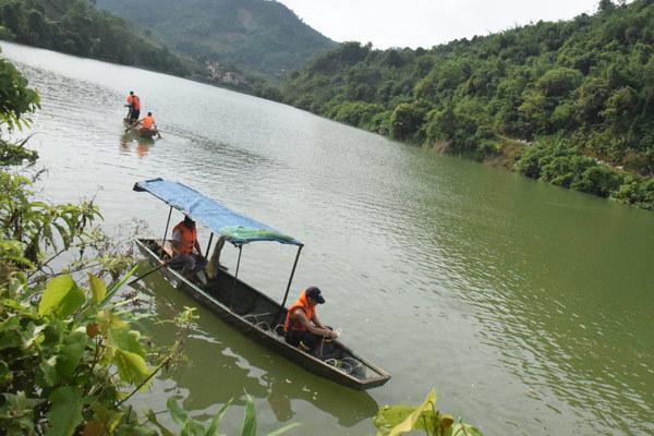 Đắm thuyền trên sông Chảy ở Lào Cai, 2 người tử vong, 1 người mất tích