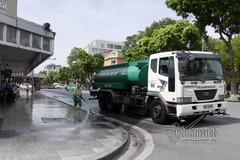 Hà Nội chi hơn 100 tỷ đồng rửa đường chống nóng và giảm ô nhiễm