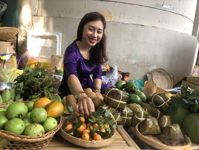 Market sells countryside specialities in HCM City centre