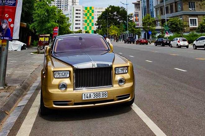 Đẳng cấp của siêu xe Rolls-Royce Phantom bốc cháy ở Quảng Ninh