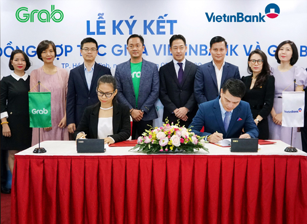 VietinBank 'bắt tay' Grab hợp tác chiến lược
