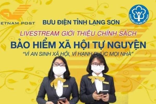 Hiệu ứng tích cực từ Livestream vận động người tham gia BHXH, BHYT