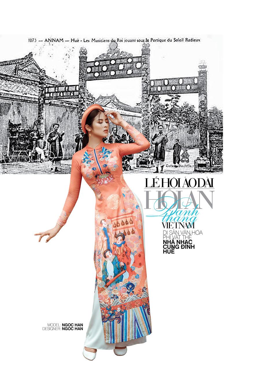 17 di sản và danh thắng Việt Nam hội tụ trong tà áo dài