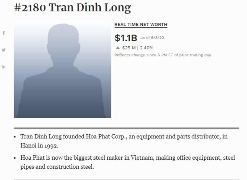 Hai tuần thêm 100 triệu USD, đại gia Việt 10 năm vào đợt thắng lớn
