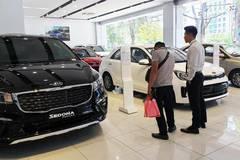Ô tô có thể được giảm 50% lệ phí trước bạ trong tháng 6