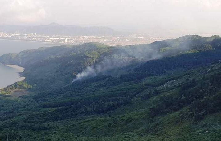 2 điểm cháy rừng bất thường nơi Triệu Quân Sự lẩn trốn trên đèo Hải Vân
