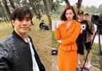 Lã Thanh Huyền, Nhan Phúc Vinh kiệt sức đóng phim giữa trời 50 độ C