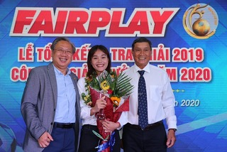 Chương Thị Kiều thắng giải Fair Play 2019