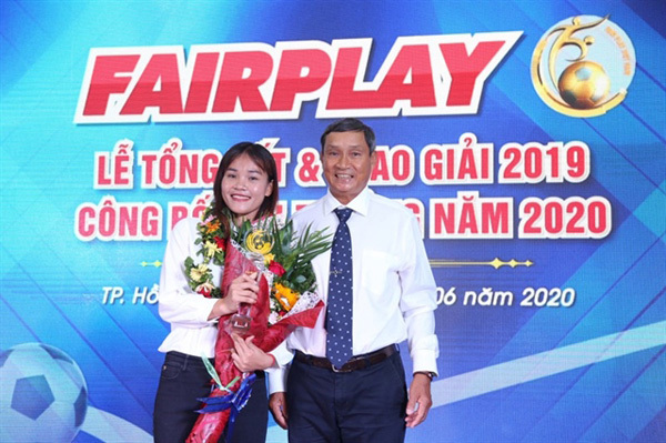 Midfielder Kieu wins Fair Play Award