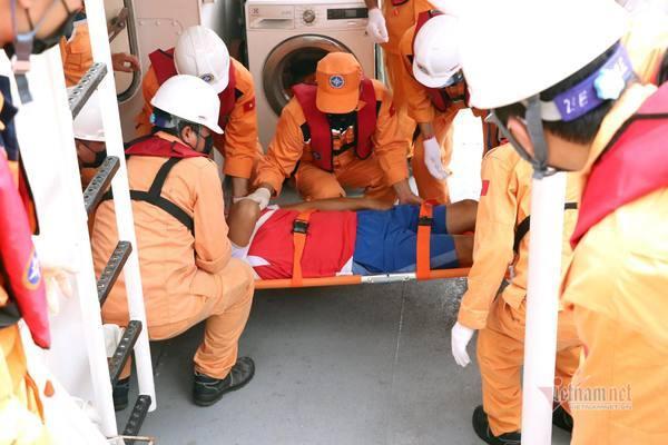 Tàu cá bị tông chìm trên biển Hải Phòng, 1 người chết, 4 người mất tích